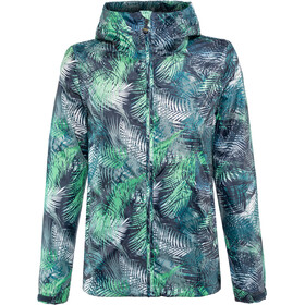 Meru Clyde Jacket Women tropical flower word